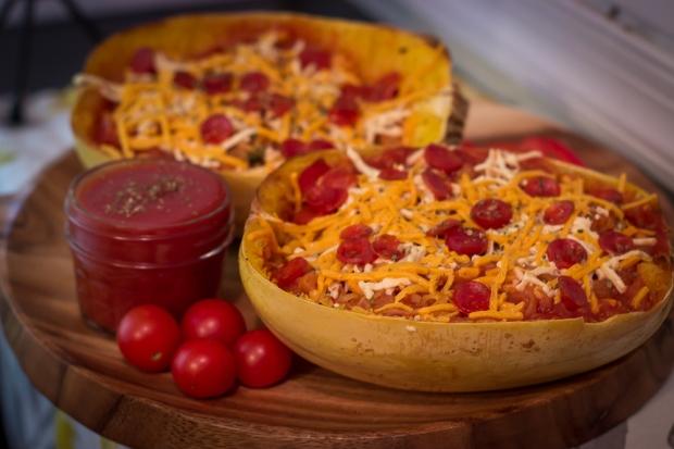Pizza Spaghetti Squash Unripe Fig