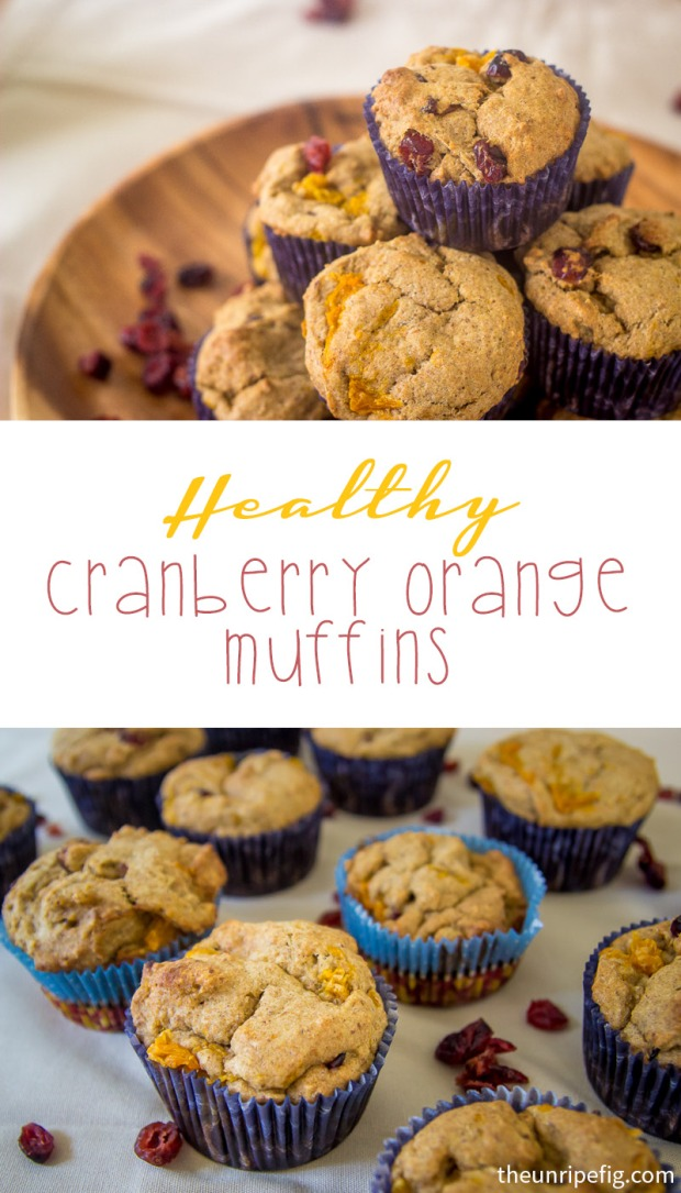 Pinterest Healthy Orange Muffins