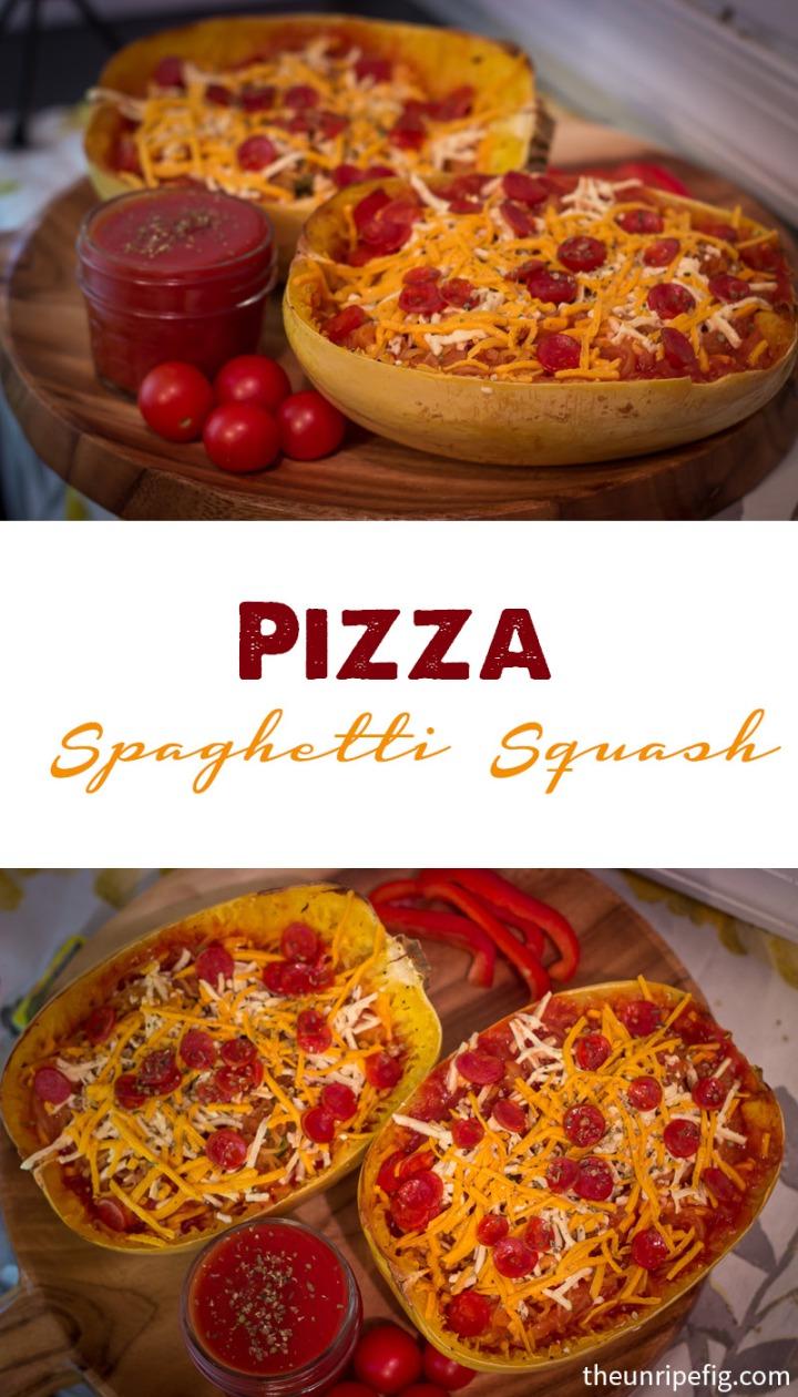 Pinterest Pizza Spaghetti Squash