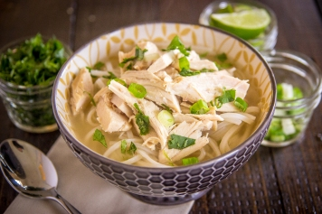 rotisserie chicken pho
