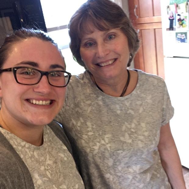 twinning with mom
