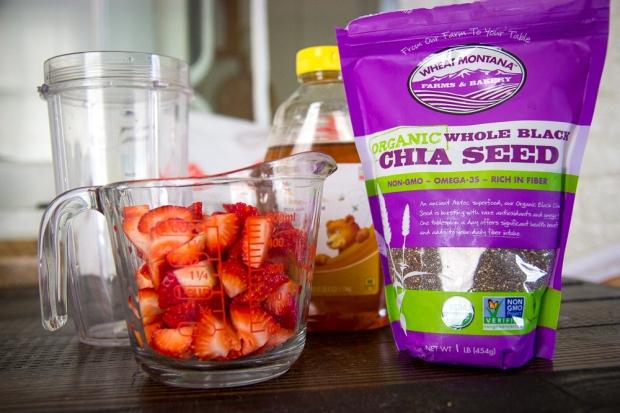 strawberry chia seed jam-8369